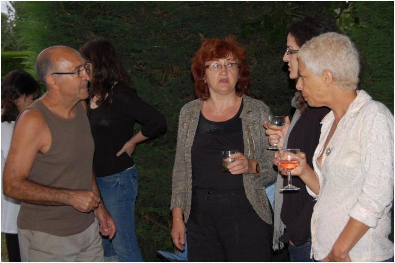 Pepito, Josette, sa fille Elodie, Louisa