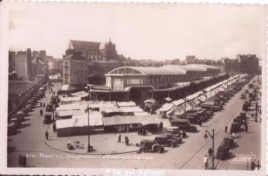 ma collection de cartes postales nantes ann u00e9es 1930