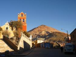 Iglesia y cerro rico - Potosi