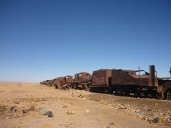 Cementerio de trenes - Uyuni