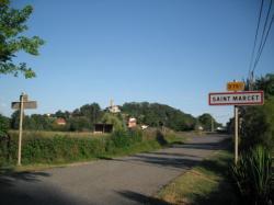 entree de Saint Marcet