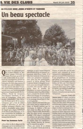 Reportage journal région Charentaise
