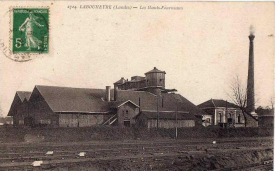 Labouheyre - Les hauts-fourneaux