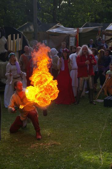 La maisnie de l'Artois met le feu