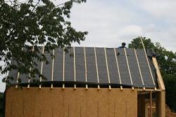 Préparation toiture