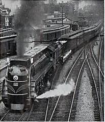 le train de Montréal-1937