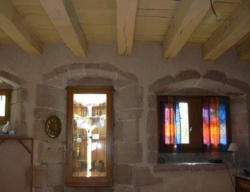 La restauration de l 39 auberge 1997 2011 - Peinture epaisse plafond ...