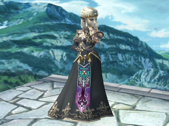 Dark princess zelda ssbbrawl - La princesse zelda ...