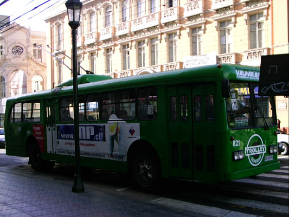 Trolley Valparaiso