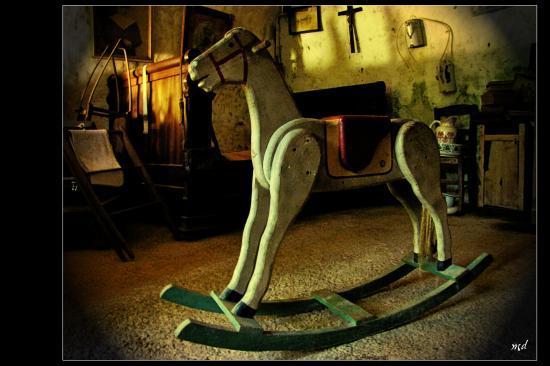 Le cheval a bascule