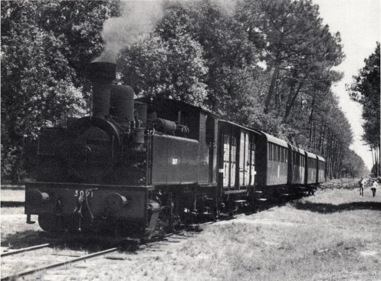 Train vapeur à Marquèze