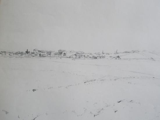 Havre de régnéville. Crayon 2b. 1994