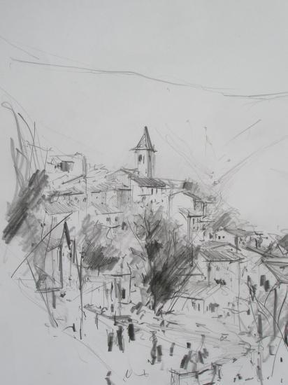Ayguatébia. Crayon.