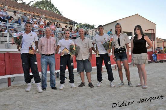 Les lauréats, Mehdi, Rudy et Florent