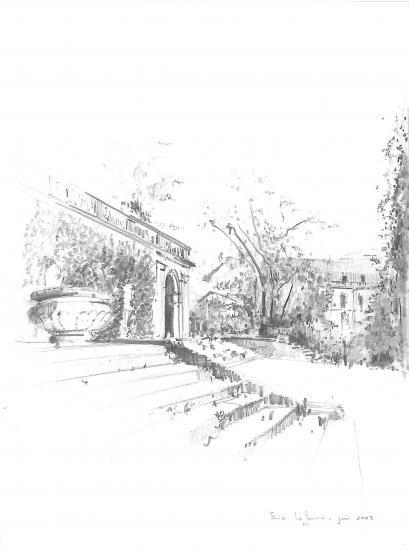 jardin public. Cayon 2B.2009.