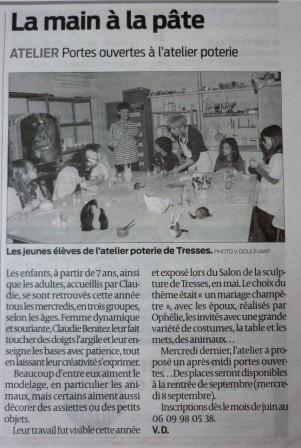 article Sud-Ouest Juin 2010