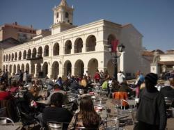 Cafe de la plaza central - Salta