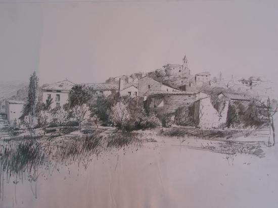 Almazore. Crayon 2B.2009.