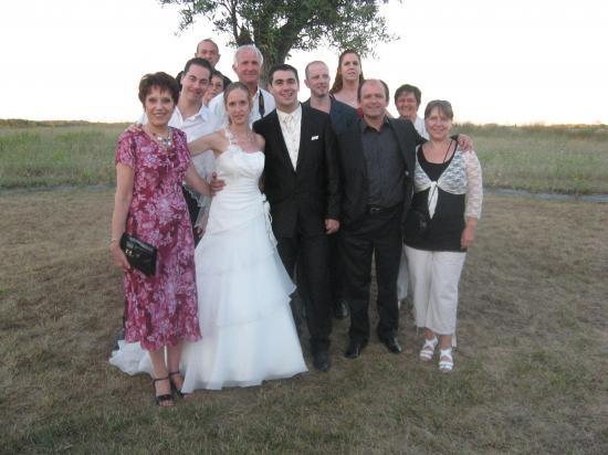 Les mariés des Compagnons de la Comédie de Lunel : 31 juillet 2010