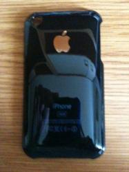 Coque avec le crome du typ de iphone