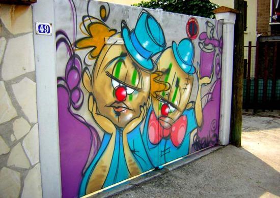 Graff portail