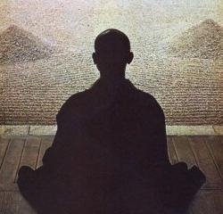Zazen monk