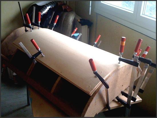 Fabrication d'un bouclier Provocator Bouclier-serre-joints