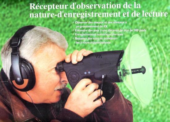 Microphone Directionnel De Surveillance