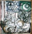 peinture/tyvek, 11 sept 2001