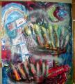 peinture Israel-Palestine