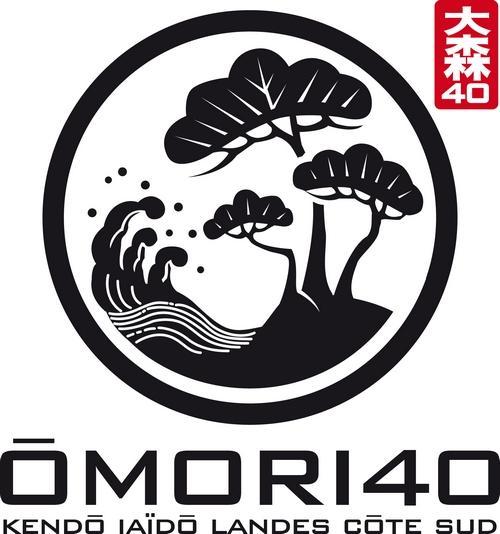 Le logo du dojo ÔMORI 40