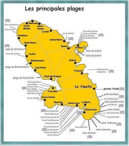 Locations à l'anse Macabou (Martinique)