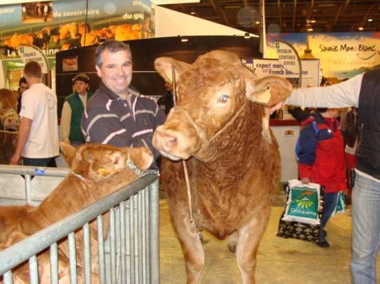 Serge BORDES et BULGARIE au Concours Général Agricole à Paris