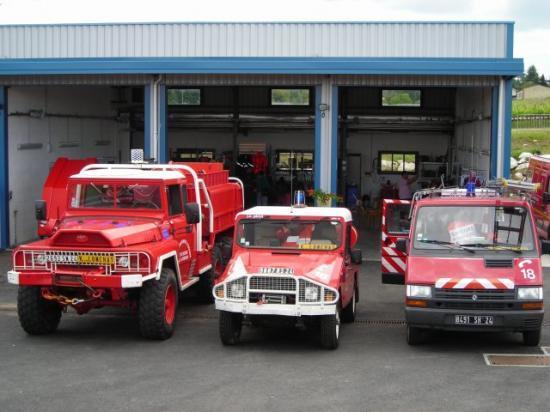pompier de Dordogne