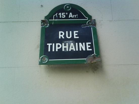 La rue où je suis née