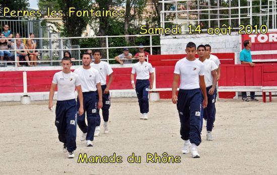 Pernes les Fontaines samedi 14 août 2010