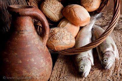 cinq pains et deux poissons