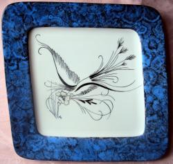 oiseau - malachite bleue