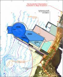 Plan du port en eau profonde de Mayumba