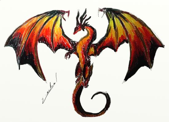 Galerie 2011 - Dessiner des dragons ...