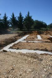 Séchage des fondations
