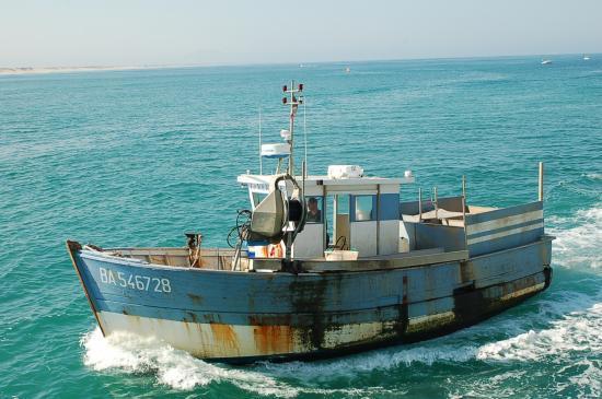 bateau de peche capbreton