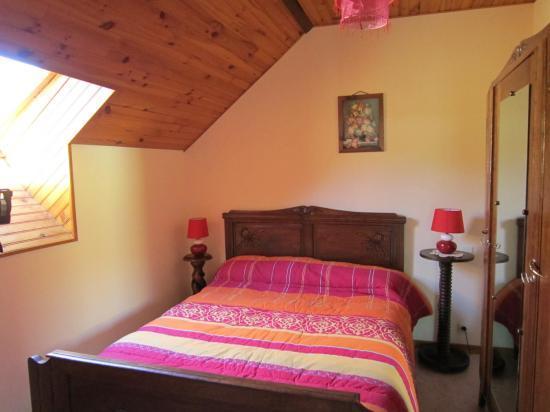 Chambre gite Larrecq