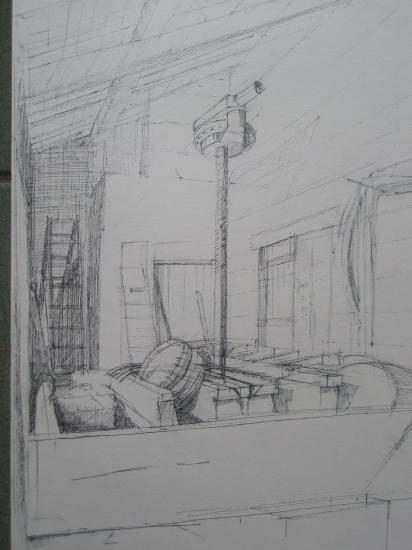Le pressoir de la Maçonne Montagne-Saint-Emilion stylo bille 1996