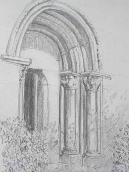 Palas del rei crayon 2B 2008