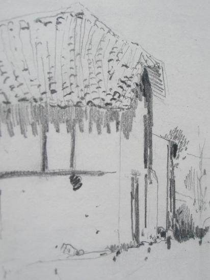 Tosantos crayon 2B 2008