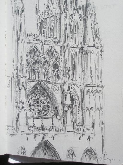 Burgos crayon 2B 2008