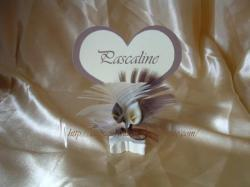 marque placce coeur arums ivoire choco