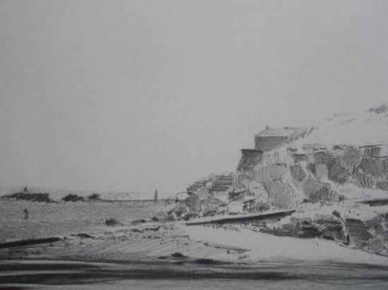 Le grand Bé Saint-Malo crayon 2002