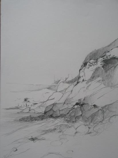 Ouessant crayon 2004